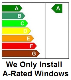 a rated windows installed as standard by conservatories stoke on trent