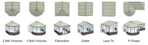 conservatory shapes by conservatories stoke on trent