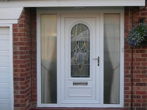 replacement upvc external door installation stoke-on-trent