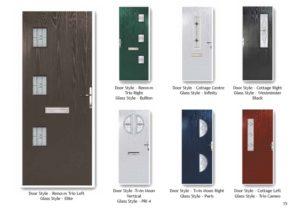 Composite Door Company in Burslem, Stoke-on-Trent Staffordshire