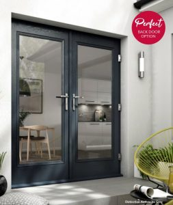 COMPOSITE GLASS FRENCH DOORS STOKE ON TRENT