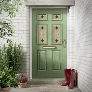 nxt-gen Classical Half Glazed Composite Door