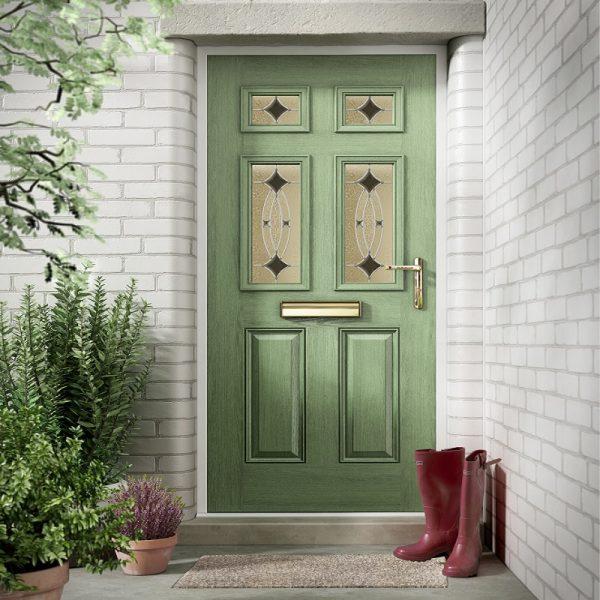 nxt-gen Classical Half Glazed Composite Door Stoke-on-Trent