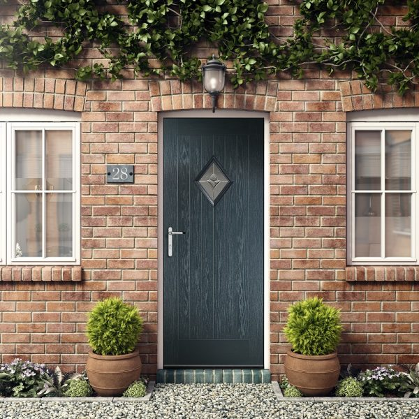 Diamond-rustic-Renown composite door Stoke-on-Trent
