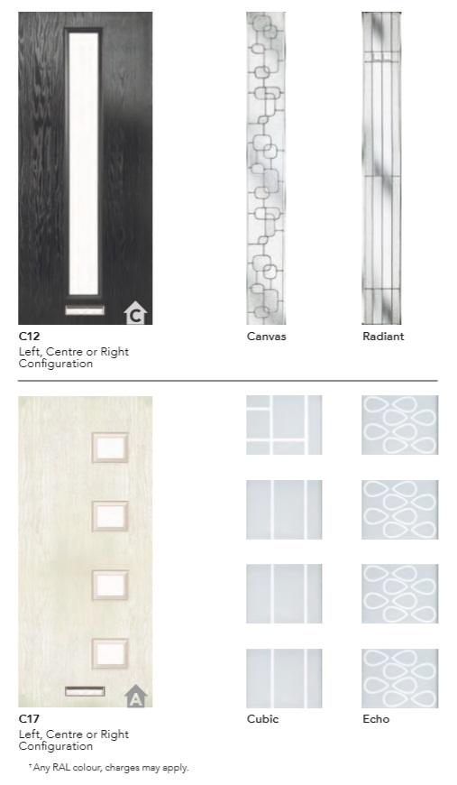 ESPRIT COMPOSITE DOOR PAGE 2 GLASS DESIGNS