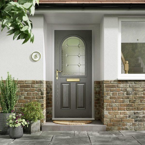 Elegance-Arch-Composite-Door Stoke-on-Trent