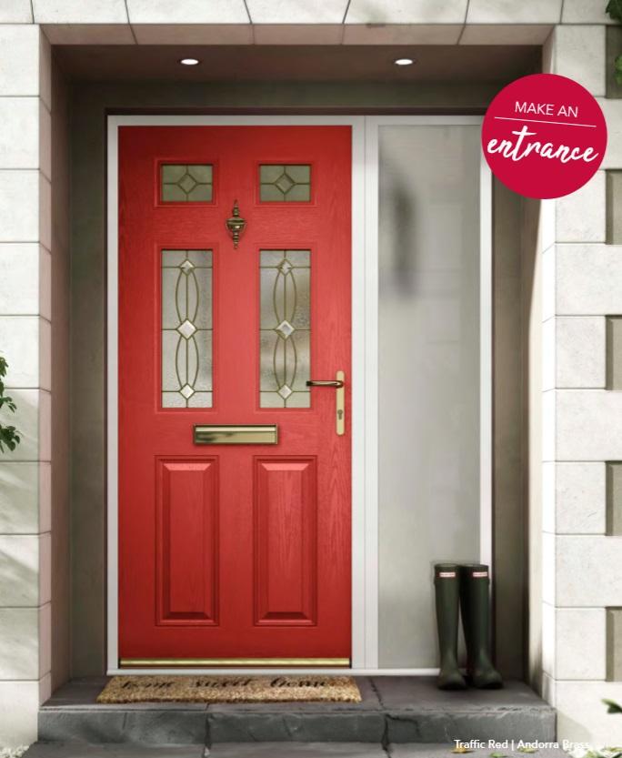 NXT-GEN CLASSIC HALF COMPOSITE DOOR STOKE ON TRENT MAIN DOOR