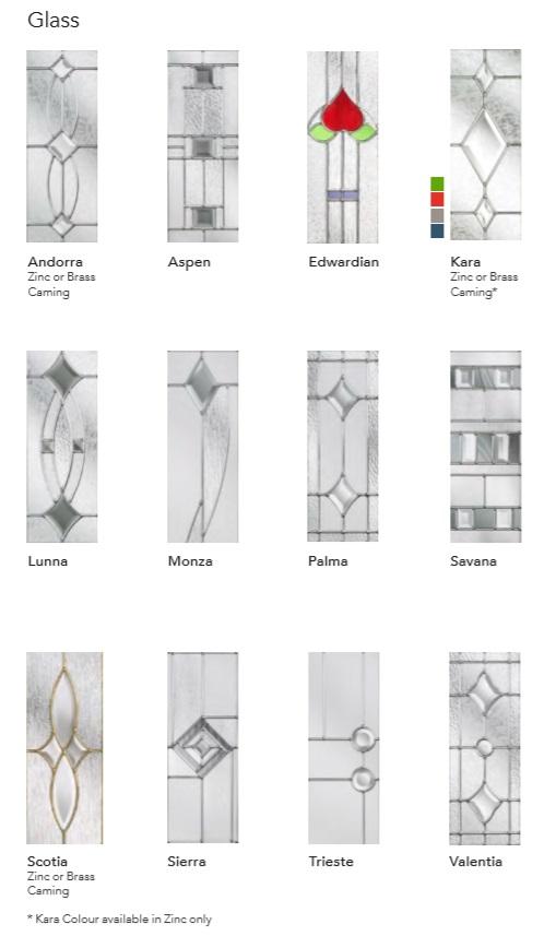 ESPRIT COMPOSITE DOOR PAGE 3 GLASS DESIGNS