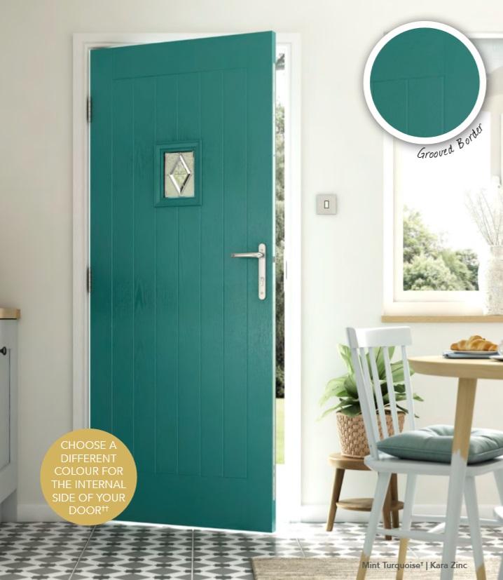RUSTIC RENOWN TOP COMPOSITE DOOR STOKE ON TRENT MAIN IMAGE