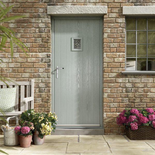 Renown Small Top Composite Door Stoke-on-Trent