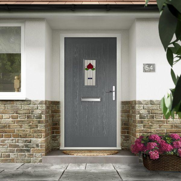 Rustic-Renown-composite door Stoke-on-Trent