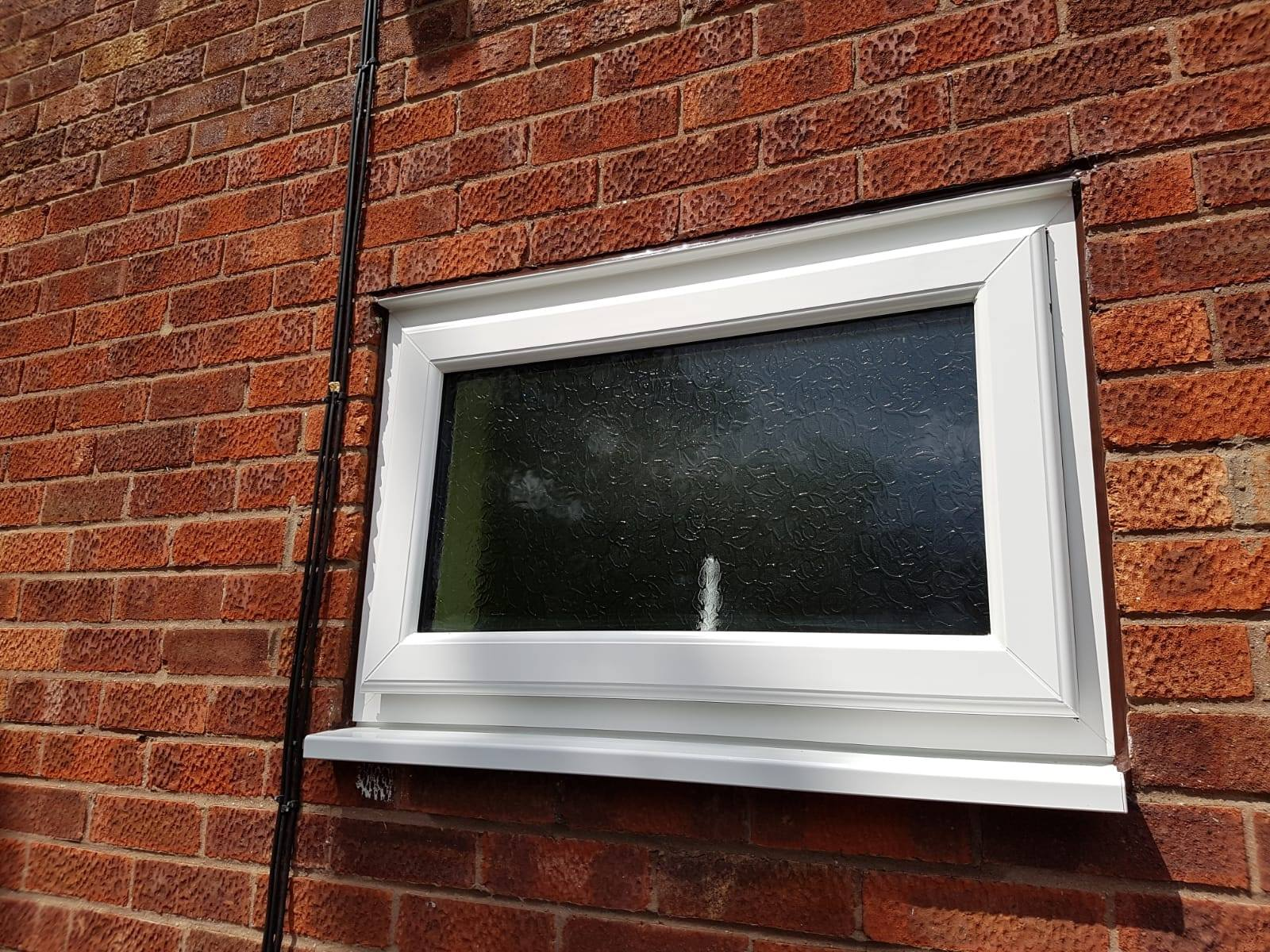 SMALL WHITE DOUBLE GLAZED WINDOW