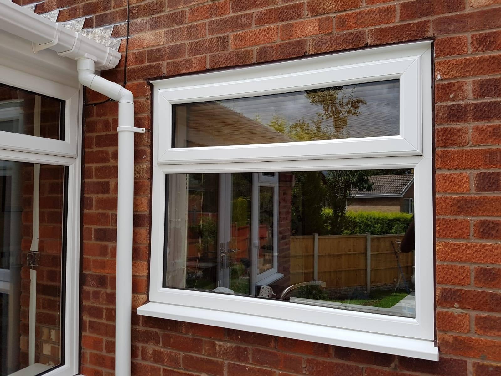 WHITE DOUBLE GLAZED WINDOW